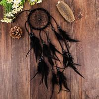 Fairy Dream Catcher Imitación antigua Bosque encantado Dreamcatcher Regalo Hecho a mano Dream Net con plumas Colgante de pared Decoración Adorno
