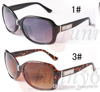 good quality Brand designer woman fashion sunglasses Men cyc...