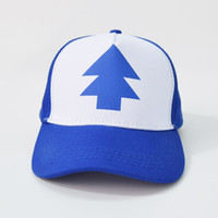 2019 New Summer Adult Bambini Gravity Mabel Dipper Pines Bill Cool Cosplay Cappellini Baseball Rete a rete Trucker Caps