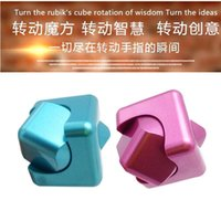 New Plastic Paint 3 colors Fidget Cube Fingertip Gyro Whirlw...