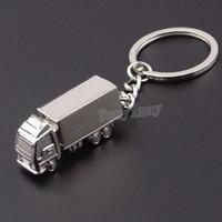 Mode camion porte-clés en alliage porte-clés porte-clés promotion hommes porte-clés 20pcs / lot livraison gratuite