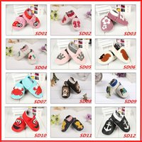24 Design New Fashion Newborn Boys Girls Leather baby Shoes ...
