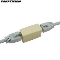 1000pcs / lotto L'alta Qulaity 8P8C RJ45 CAT5E newtwork Lan Ethernet via cavo falegname di estensione accoppiatore connettore RJ45 CAT6 CAT6E della spina