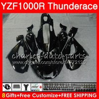 Body For YAMAHA Thunderace Glossy black YZF1000R 96 97 98 99...