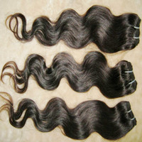 Offerte assolutamente all'ingrosso trama dei capelli umani onda del corpo brasiliano 100% capelli umani 20pcs / lot