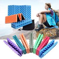 EVA Köpük Koltuk Pad Katlanabilir Su geçirmez Seyahat Açık Koltuk Cuchion Kamp Yastık Mat Piknik Katlama Mat OOA2413