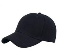 Moda 2017 Nueva Llegada 6 Colores de Alta Calidad Deporte Ocasional Simple Ocio Color Sólido Ajustable Sombrero de Béisbol Gorra Para Mujer Hombre