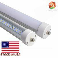 8 pés 8 pés FA8 2.400 milímetros T8 levou tubo luzes alta Super Bright 45W branco fresco Led tubo fluorescente AC 85-277V