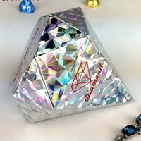 4 Colors Pick- - 100pcs lot Ivory Colors Diamond shaped Candy ...