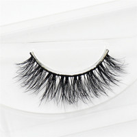 1 Pair 100% Real Mink 3D cross False Eye Lashes Extension Ma...