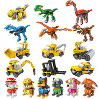 12pcs With Showing Box bLOZ 4005 building blocks Eggs dinosa...