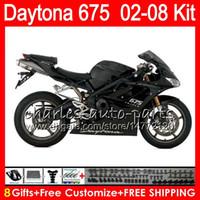 8 Regalos 23 colores para Triumph Daytona 675 02 03 04 05 06 07 08 Daytona675 negro 4HM29 Daytona 675 2002 2003 2004 2005 2006 2007 2008 Carenado