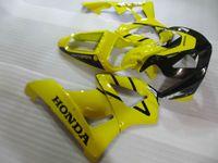 Juego de carenado de plástico ABS moldeado por inyección para carenado Honda CBR900RR 00 01 amarillo negro CBR929RR 2000 2001 OT28