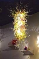 Lámpara contemporánea Larga Burbujas Lámparas de cristal sopladas Lámparas Colgantes Lámparas de interior Luces de interior Color Beige Color Light Girban Marca