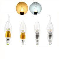 Alto potere 5W ha condotto la lampadina della candela lampadario E14 E12 E27 85-265V LED principale lampadine luce di illuminazione da incasso faretto