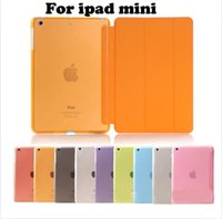 Flip Fold Magnetic Smart Cover clear Stand Case With Auto Sl...