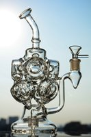 Glass bubbler fab egg glass bongs with Stereo Matrix dab rig...