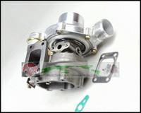 GT2860 오일 냉각 터보 압축기 AR 0.60 터빈 AR 0.64 터보 차저 용 Nissans S13 S14 S15 CA18DET T25 5 볼트 400HP 개스킷