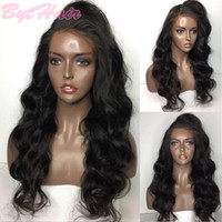 Bythair Wavy Lace Front Human Hair Wigs Virgin Hair Full Lac...