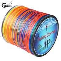 Treccia da pesca a 8 fili intrecciata Treccia da pesca 500 ml multi colore Super Strong a treccia in polipropilene 10LB 20LB 30LB 40LB 100LB 200LB