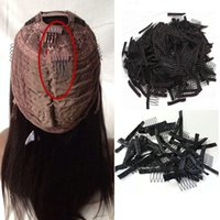 Hair Combs For Wigs Black Brown Color 50pcs Hair Clips 6 Tee...