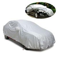 Автомобиль всего тела охватывает солнцезащитный козырек защиты зонт снег тень обложка анти-УФ Мороз ледяной пыли царапинам седан стайлинга автомобилей