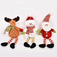 2018 New Arrival Wapiti&Santa&Snowman Dolls Gifts With Woode...