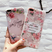 Red Pink Rose Embossed Stereo Flower Back Cover Protective Mobile Phone Case for Vivo X9 Plus 1pc By HKPost Free Shipping