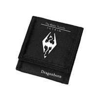 La mejor cartera para hombre Anime Oxford Purse The Elder Scrolls V Skyrim Wallet