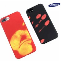 2017 Nouveaux appareils de protection thermique pour iPhone 7 6 6s Plus Case Funny Soft TPU Heat Heat Induction Mobile Phone Back Cover