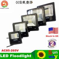 High Power SMD 5730 LED Flood Light 100 Watts Vattentät Utomhus Översvämningsljus med CE-certifikat + lager i USA