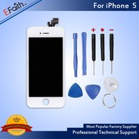 For White iPhone 5 LCD Display & Touch Screen Digitizer Full...