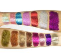 ODM 55 colour تركيبة 4 لون ظلال عيون لوح ارتفاع ضوء ظلال العيون بريق مسحوق بصل ذهبي