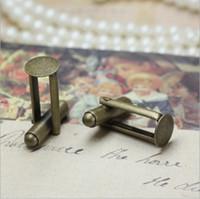 6 мм запонки лотки имитация родием медь французский запонки заготовки запонки спинки подходят 6 мм для наклейки или кабошоны