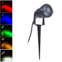 3W AC85- 265V 12V LED Garden Spike light IP65 Waterproof Proj...