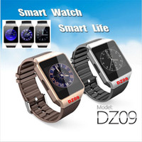 DZ09 Smart Watches Mit 1,56 zoll Unterstützung Bluetooth SIM Slot Telefonanruf Schreiben Uhr Schrittzähler Kamera für iPhone 6 Plus 5 S Samsung S6 Hinweis 4