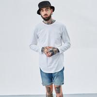 Горячая мужская мода хип-хоп футболка уличная одежда сплошной цвет crossfit футболка повседневная kanye west Harajuku топы черный белый серый TX144 F3