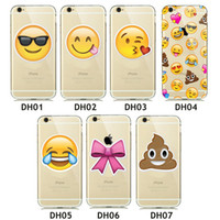 Cute Funny emoji Phone Case For Coque iPhone 5 5s 6 6s Plus ...