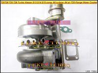 Commercio all'ingrosso T25 T28 T25T28 T25 / 28 Turbo TurboCharger per Nissan S13 S14 S15 comp .60 Turbina .64 AR T25 Flangia raffreddato ad acqua