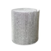 "1611 Free shippingg 4. 75"" x30 FT silver Diamond sparkle ..."