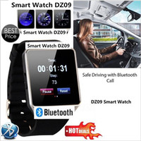 카메라 블루투스 손목 시계 SIM TF 카드 Smartwatch를가 iOS 안드로이드 전화 지원 다중 언어를 가진 뜨거운 판매 최신 스마트 시계 dz09