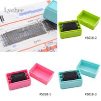 Groothandel- Lychee 1 Stuk Security Hide ID Decoratieve rubberen stempels voor Scrapbooking Roller Stamp Craft for Office