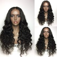 curly glueless full lace wig remy hair Malaysian human hair ...