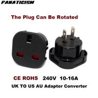 Fanatizm En Kaliteli Evrensel Seyahat AC Güç Soket 9628 UK için ABD AU Tak Adaptör Dönüştürücü Elektrik fiş adaptörü