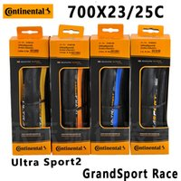 2PCS Continental Grand   Ultra Sport2 700 * 23   25C road ca...