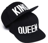 Embroidery Snapbacks Couple Cap Men And Women Fashion QUEEN ...