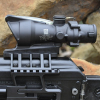 Trijicon ACOG 4X32 SCOPE Fiber Source Red Green Illuminated ...