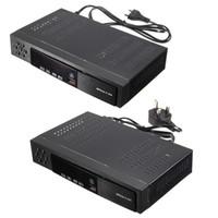 Freeshipping AB / İNGILTERE Full HD 1080 P T2 + S2 Video Yayını Uydu Alıcısı Kutusu TV HDTV
