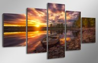 5Pcs Set HD Printed ringerike Painting Canvas Print room dec...