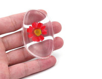 Clear flower Powder Puff Transparent Silicone Face Foundatio...